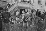 Jim Čert Horáček, vernisáž 26.9.1981 Plasy,  (1981). Fotograf: Bořivoj Hořínek, Jan Malý, Iren Stehli © (Dušan Šimánek Archive)