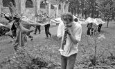 Michael Crockford: Milos with trumpet (1999). Photographer: Daniel Šperl
