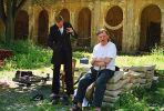 Vaara and Warpechovsky (1995). Photographer: Avraham Eilat
