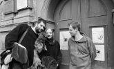 Daniel Šperl, Alena Dvořáková, Viktor Fišer: Viktor Fišer, Alena, Daniel Šperl (1998). Photographer: Daniel Šperl