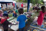 Zauhlovačka. Dětský koutek, červenec 2017