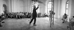 Luboš Dalmador Fidler, Oldřich Janota, Štěpán Pečírka: Rozechvělý hliník (1998). Photographer: Daniel Šperl