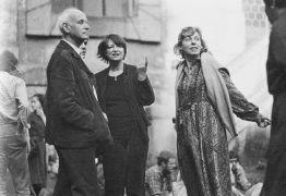 vernisáž 26.9. 1981 - Henri Cartier-Bresson, Anna Fárová, Sue Williams  (1981). Fotograf: Bořivoj Hořínek, Jan Malý, Iren Stehli © (Dušan Šimánek Archive)