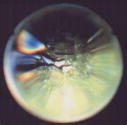 Miloš Šejn: Body Videosonic Lightning, detail. — video instalace, Fungus  (1994). Fotograf: Daniel Šperl