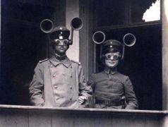 German sound location, 1917