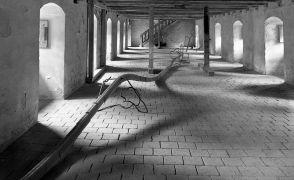 Aleš Hnízdil: Prostorová linie (1995). Fotograf: Daniel Šperl