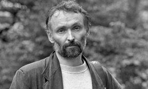 Aleš Hnízdil: Aleš Hnízdil, Portrét, Plasy, 1995, photo: Daniel Šperl (1995). Photographer: Daniel Šperl