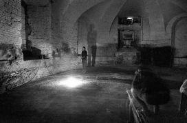 Anke Schulte-Steinberg: Lighting 2 — installation view (1995). Photographer: Daniel Šperl