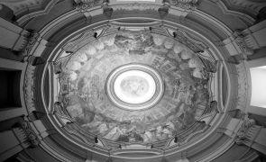 Jan Blažej Santini-Aichel: St. Benedict chapel coppula (1997). Photographer: Daniel Šperl