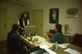 Ivo Kornatovský, David Miller: Kralovice slévárna - Ivo Kornatovský a David Miller  (1995). Fotograf: Avraham Eilat