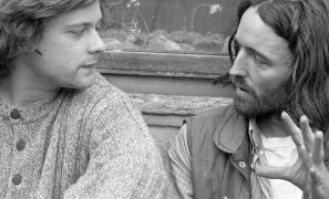 Loris Cecchini and John Reardon — Portrait (1995). Photographer: Daniel Šperl