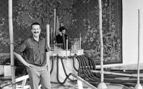 Hans van Koolwijk: míčovna pražského hradu (1993). Photographer: Daniel Šperl