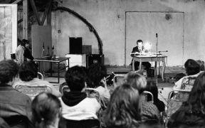 Tibor Szemzo: Konzert v refektáři (1993). Photographer: Daniel Šperl