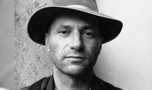 Luboš Dalmador Fidler: portrét (1993). Photographer: Daniel Šperl