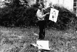 Karel Adamus: Peripatetické kresby (1992). Photographer: Iris Honderdos
