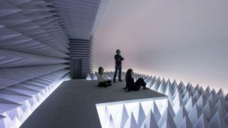 Doug Wheeler, PSAD Synthetic Desert III, Guggenheim Museum, photo David Heald