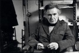 Emil Mihai Cioran: Portrait (1993). Photographer: archive