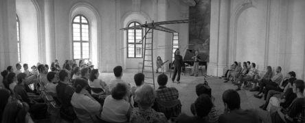 Luboš Fidler, Oldřich Janota, Štěpán Pečírka:  (1998)Photographer: Daniel Šperl