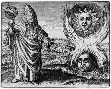 Hermes Trismegistos, Stolcius Viridarium Chymicun,1624 (1994). Photographer: wikipedia