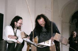 Petr Lysáček, David Horan:  (1998)Photographer: David Horan