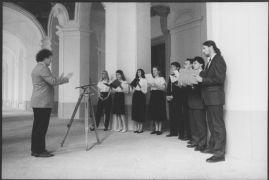 Jaromír Tichý: Musica ad Gaudium (1993). Photographer: Daniel Šperl