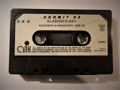 Hermit 92 audiocassette (1992). Photographer: archive