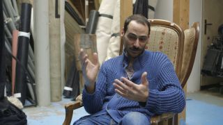 Stil image from the Mazen Kerbaj interview