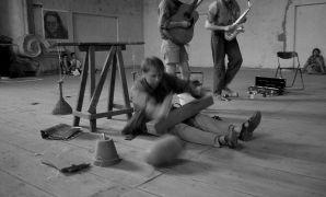 Martien Groeneveld: martien_groeneveld_94 — music performance, sound installation (1994). Photographer: Radovan Kodera