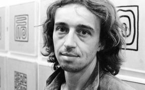 Petr Kvíčala: Portrait (1993). Photographer: Daniel Šperl