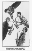 Rova Saxophone Quartet: Portrait (1994). Photographer: Peeter Vilms