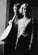Jana Lewitová a Rudolf Měřinský: Portrait (1993). Photographer: Gert de Ruyter