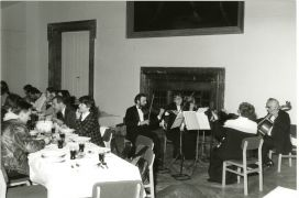 Die Fabrikanten: concert in hall (1994). Photographer: archive