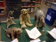 A.A.Milne: Winnie-the-Pooh. Photographer: wikipedia commons