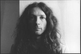 Tomáš Lahoda: Portrait (1993). Photographer: Dan Šperl