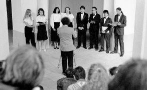 Musica ad Gaudium: Musica ad Gaudium (1993). Photographer: Daniel Šperl