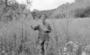 Frank van de Ven: Portrait (1997). Photographer: Daniel šperl
