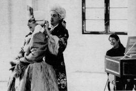 Sarah Fraser: Music and movement — dance: Eva and Rupert van Heiningen (1993). Photographer: Gert Ruyter