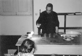 Goji Hamada: Untitled — performance (1997). Photographer: Daniel Šperl