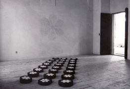 Jagdish Chander: The Path to Nirvana — installation (1994). Photographer: Ger de Ruyter