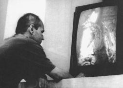 Miloš Šejn: Landscape — videopresentation (1994). Photographer: Gert de Ruijter