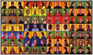Peter Kalmus: prechodové portréty (1998). Photographer: archive