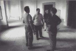 Rova Saxophone Quartet:  (1994)Photographer: Gert de Ruiter