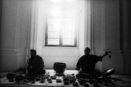 Vlastimil Marek, Roman Benda: Tibetan Bowls (1993). Photographer: Gert de Ruiter